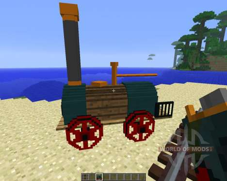 Rails of War Mod [1.5.2] para Minecraft