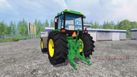 John Deere 4850 v2.0 para Farming Simulator 2015