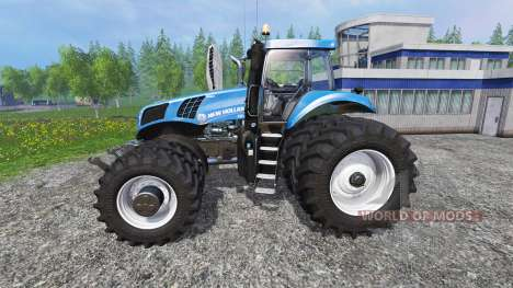 New Holland T8.320 Dynamic8 v1.1 blue para Farming Simulator 2015