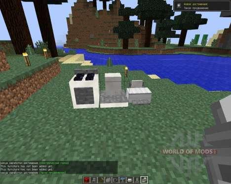 MrCrayfish Furniture [1.8] para Minecraft