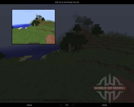 Screenshots Enhanced [1.8] para Minecraft