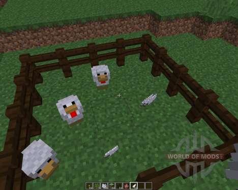 ChickenShed [1.8] para Minecraft