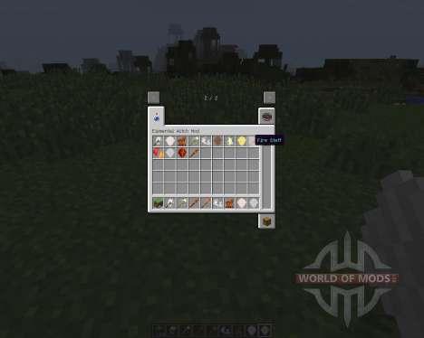 Elemental Witch [1.7.2] para Minecraft