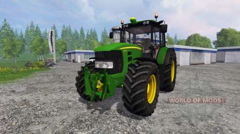 John Deere 7430 Premium v1.1 para Farming Simulator 2015