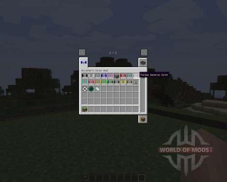 Mcrafters Siren [1.7.2] para Minecraft