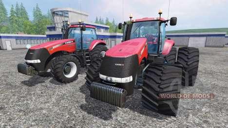 Case IH Magnum CVX 380 twin pack shader v1.2b para Farming Simulator 2015