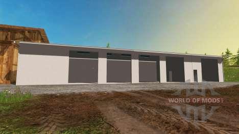 Garaje para Farming Simulator 2015
