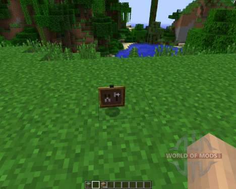 Super Crafting Frame [1.7.2] para Minecraft