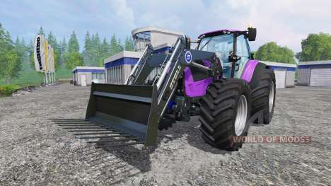 Deutz-Fahr Agrotron 7250 Forest Queen v2.0 purpl para Farming Simulator 2015