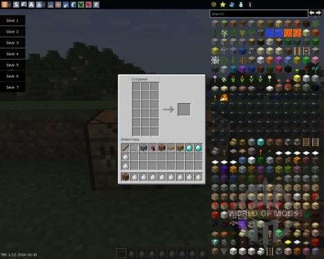 Extended Workbench [1.7.2] para Minecraft