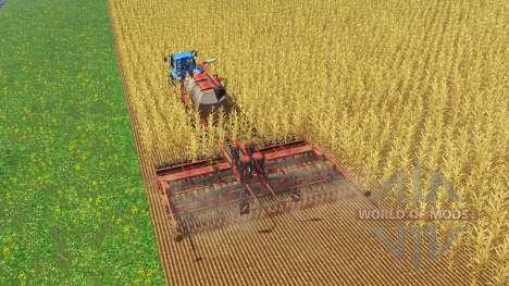 Labranza, sembradoras para Farming Simulator 2015