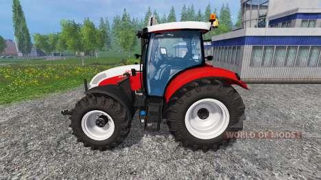 Steyr Profi 4130 CVT v1.1 para Farming Simulator 2015