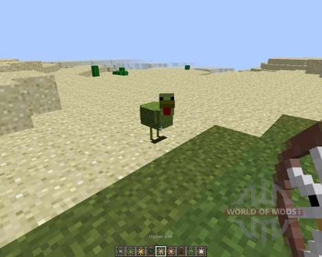 Animal Bikes [1.8] para Minecraft