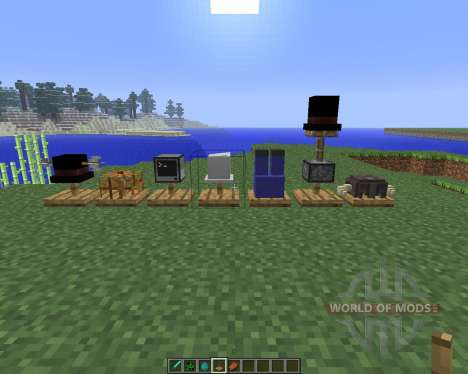 Hat Stand [1.5.2] para Minecraft