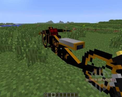 Steam Bikes [1.6.4] para Minecraft