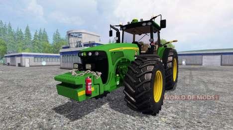John Deere 8520 v3.1 para Farming Simulator 2015