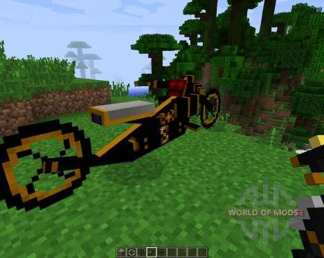 Steam Bikes [1.7.2] para Minecraft