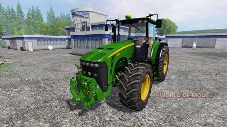 John Deere 8530 v2.0 fixed para Farming Simulator 2015