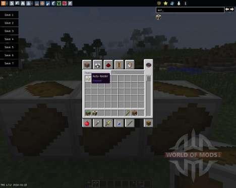 AutoFood [1.7.2] para Minecraft