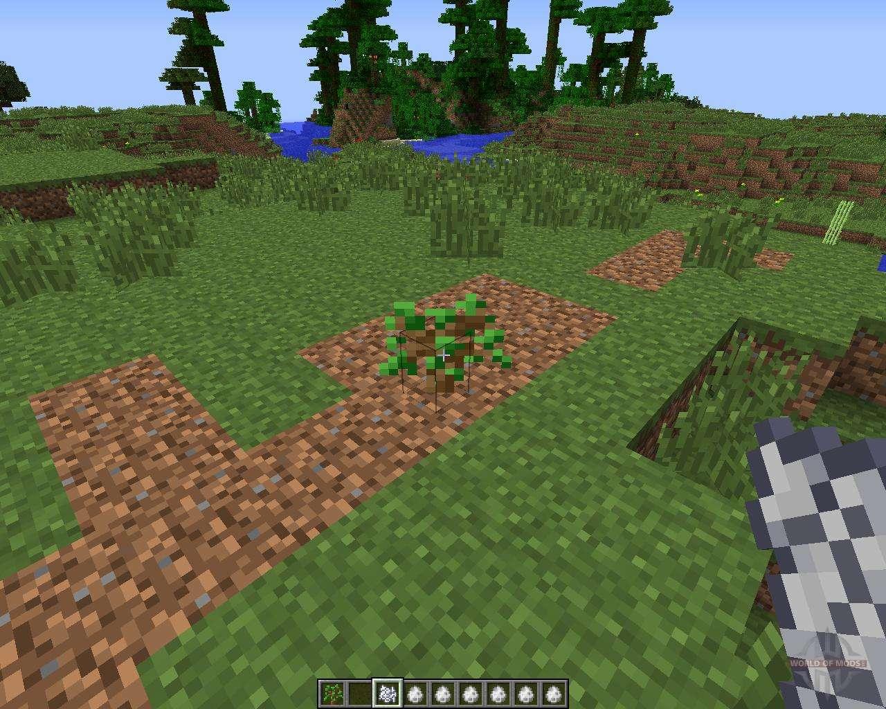 большие деревья мод 1.8.0 майнкрафт #5