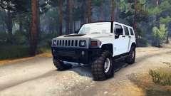 Hummer H3 v0.2 para Spin Tires