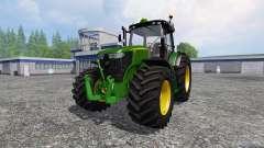 John Deere 7310R v3.0 para Farming Simulator 2015