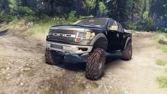Ford Raptor SVT v1.2 factory tuxedo black para Spin Tires