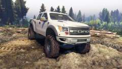 Ford Raptor SVT v1.2 factory pale adobe para Spin Tires