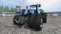New Holland T8.320 Dynamic8 v1.1 blue