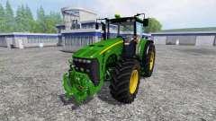 John Deere 8530 v3.0 para Farming Simulator 2015