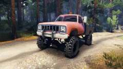 Dodge Power Wagon B-17 Rocks v1.2 para Spin Tires