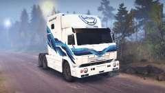 KamAZ-54112 RIAT para Spin Tires