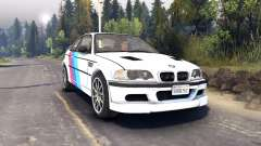 BMW M3 para Spin Tires
