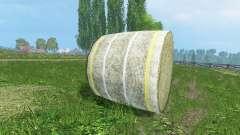 Nuevas texturas de fardos de heno