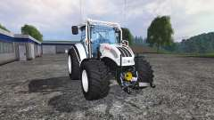 Steyr Multi 4115 forestry colours