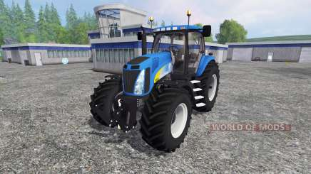 New Holland T8.020 v4.0 para Farming Simulator 2015