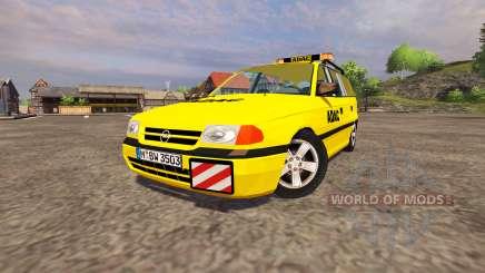 Opel Astra Caravan ADAC para Farming Simulator 2013