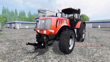 Bielorrusia-3022 DC.1 con ruedas duales para Farming Simulator 2015
