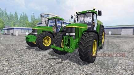 John Deere 7810 [pack] para Farming Simulator 2015