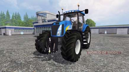 New Holland T8.020 v3.0 para Farming Simulator 2015