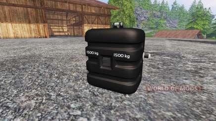 Deutz-Fahr 1500 v2.0 washable para Farming Simulator 2015