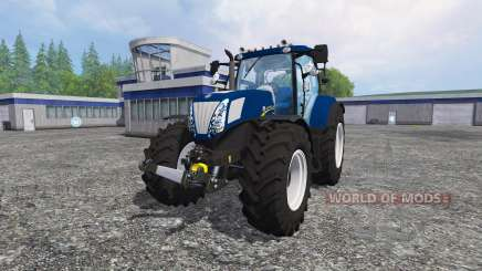 New Holland T7.270 blue power para Farming Simulator 2015