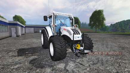 Steyr Multi 4115 forestry colours para Farming Simulator 2015