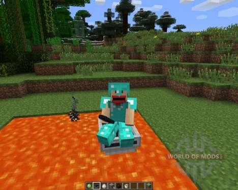 LavaBoat [1.6.2] para Minecraft