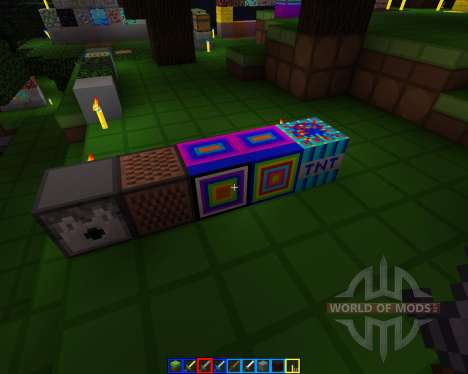 Crazy colors [16x][1.7.2] para Minecraft