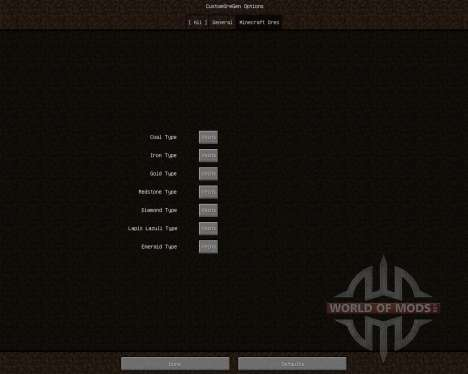 Custom Ore Generation Revival [1.6.2] para Minecraft