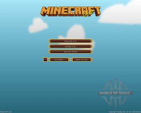 Bluebird [16x][1.8.1] para Minecraft