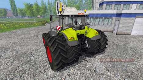 CLAAS Axion 850 v4.0 para Farming Simulator 2015