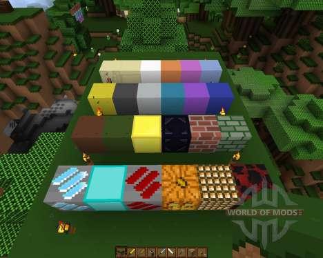 Movidacraft Simple Texture Pack [16x][1.8.1] para Minecraft