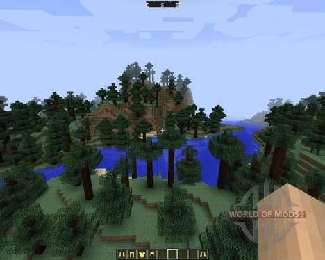 DirectionHUD [1.7.2] para Minecraft